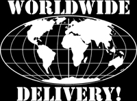 We deliver all over the world!